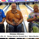 Captioned Divison Winners